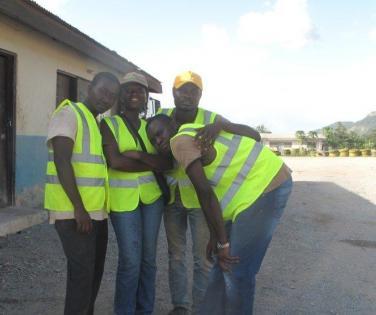 Millicent Amekugbe team